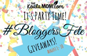 12 #BloggersFete Giveaways for 12 Years of Blogging!!!