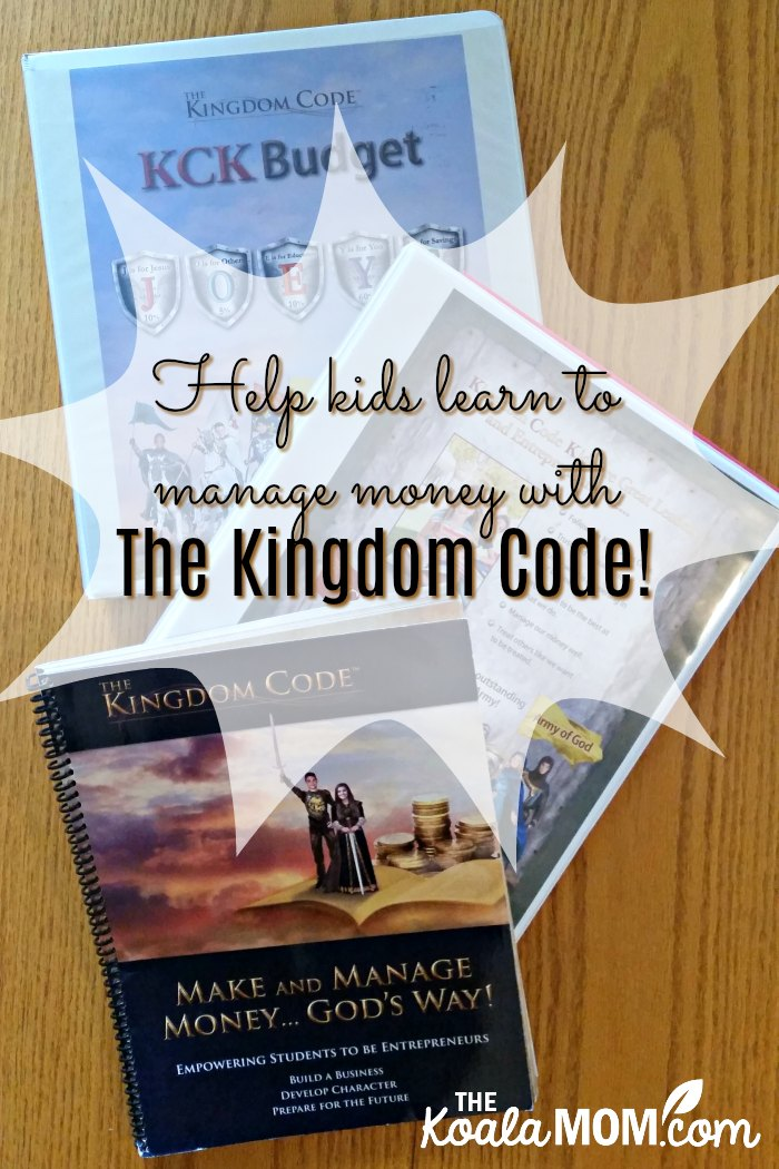 Help kids learn to manage money with The Kingdom Code, a faith-based program that teaches life and money skills