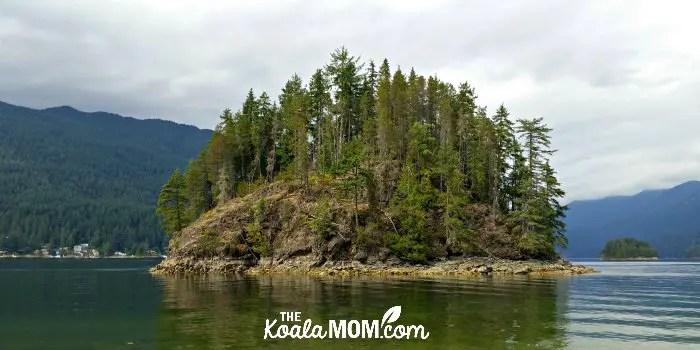 Jug Island Trail near Port Moody, BC