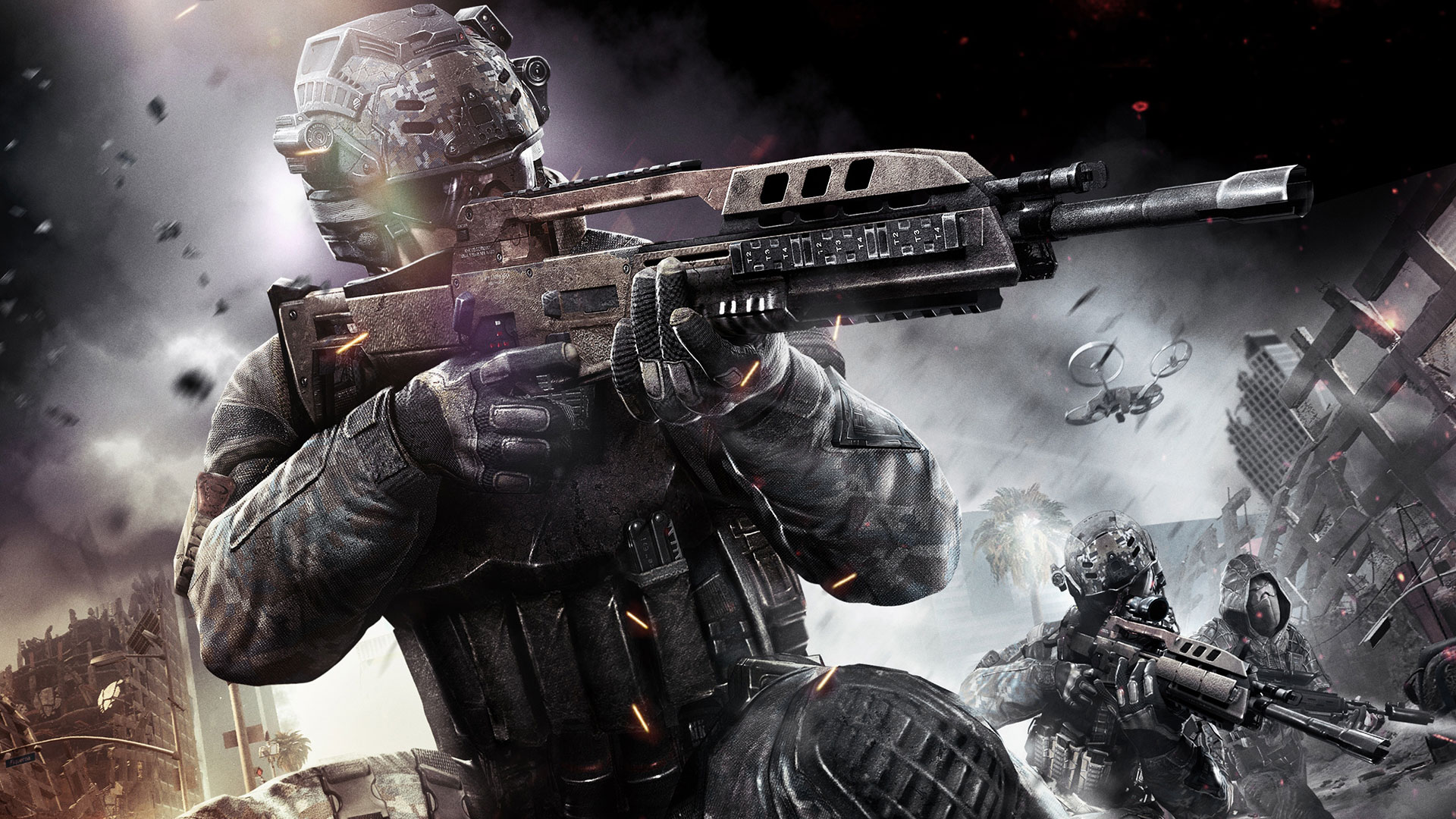 Black Ops 2 Uprising DLC Video Previewed The Koalition