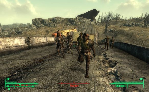 Fallout enemy A.I