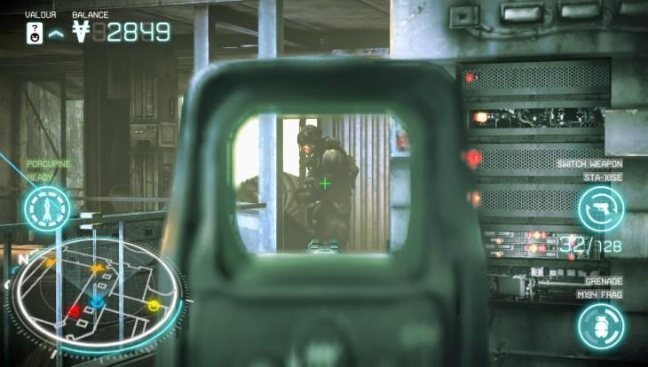 Killzone: Mercenary Aiming