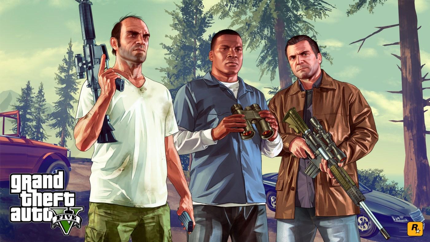 5. Grand Theft Auto V