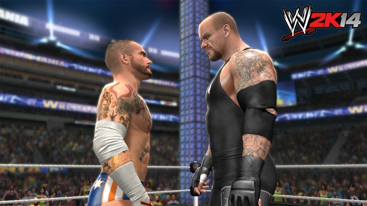 CM Punk takes on The Undertaker on the grandest stage of them all.