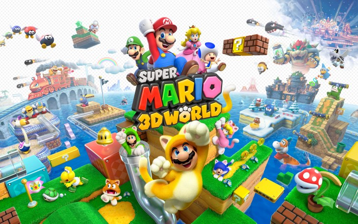 2) Super Mario 3D World