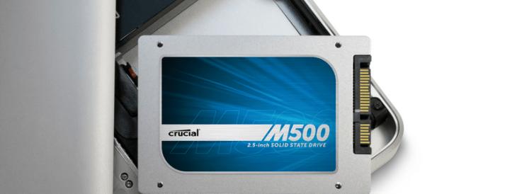 Crucial M500 240GB SSD