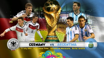 2014 FIFA World Cup Final Simulation - Germany vs Argentina