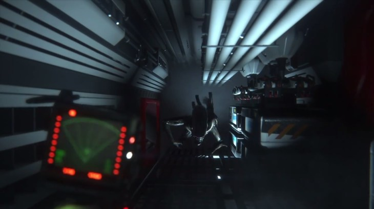 Alien: Isolation motion tracker