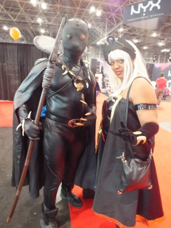 Black Panther and Storm Cosplay