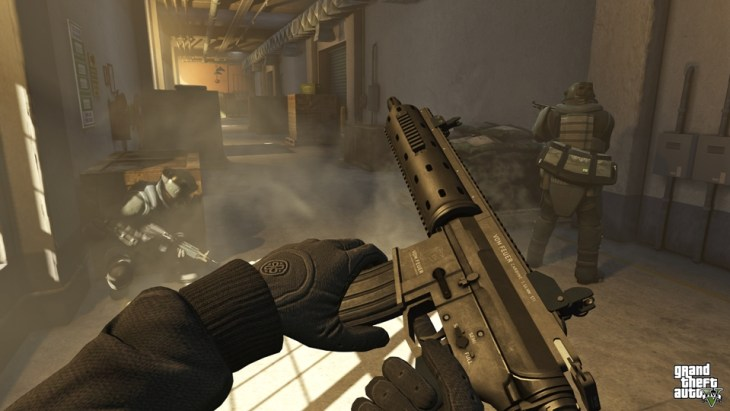 Grand Theft Auto V - FPS