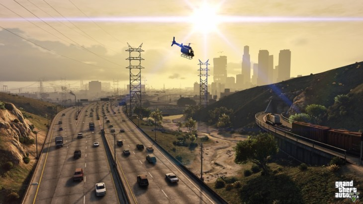 Grand Theft Auto V - Helicopter