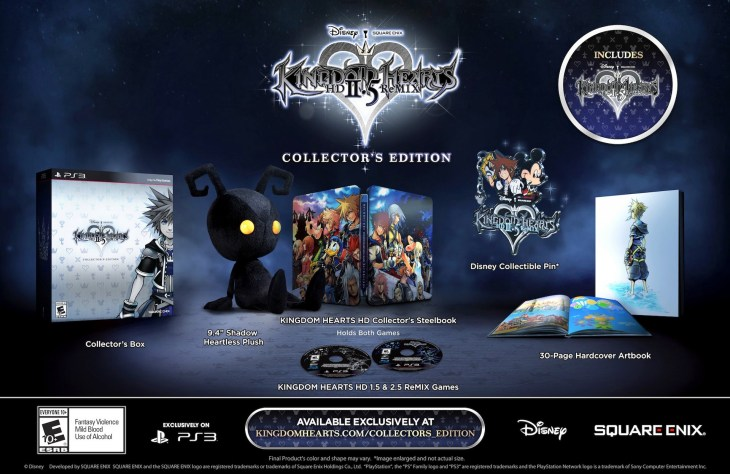 Kingdom-Hearts-HD-2.5-ReMIX collector's edition