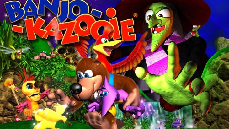 Banjo Kazooie - Rare Games