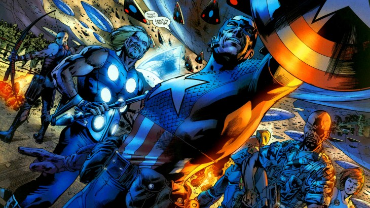 The Ultimates Marvel Comics