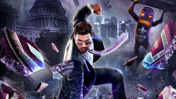 Saints Row IV Re-Elected art