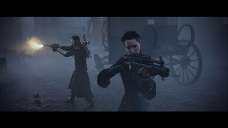 The Order - Gallahad & Igrane shoot