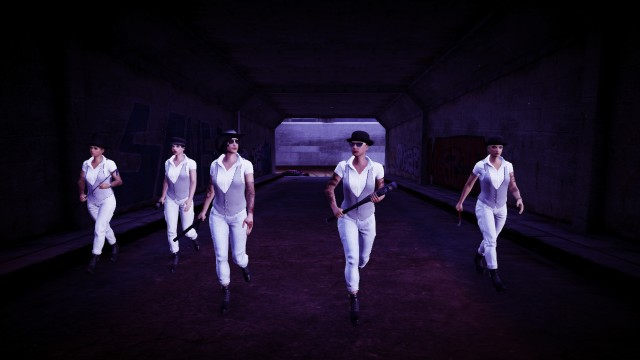 A Clockwork Orange San Andreas Style.