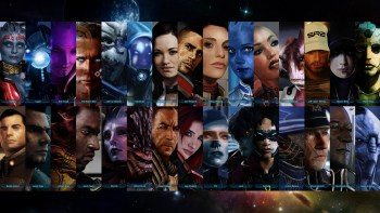 Mass Effect Squad Members