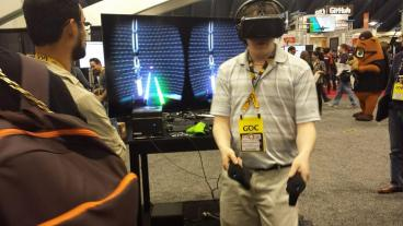 GDC 2015 Sixense Star Wars 2