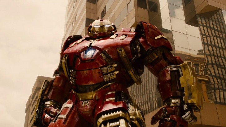 Hulkbuster in Age of Ultron