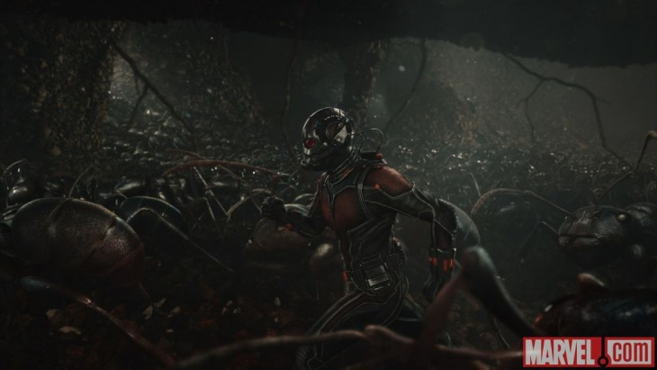 Ant-Man - Running with ants