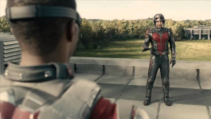 Ant-Man - Falcon meets Ant-Man