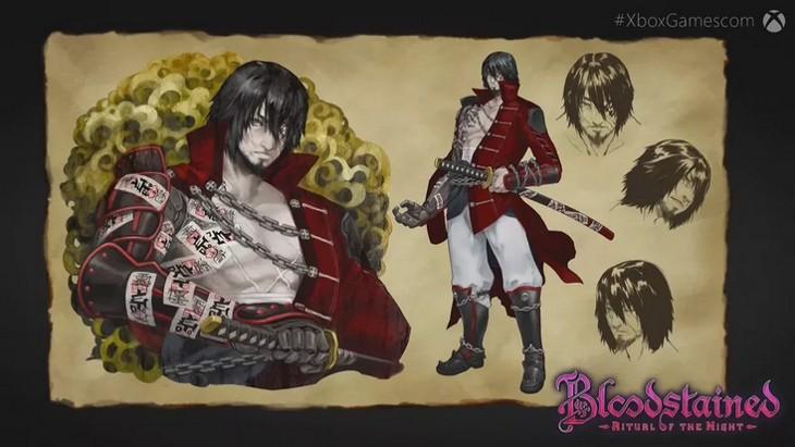 bloodstained demon hunter