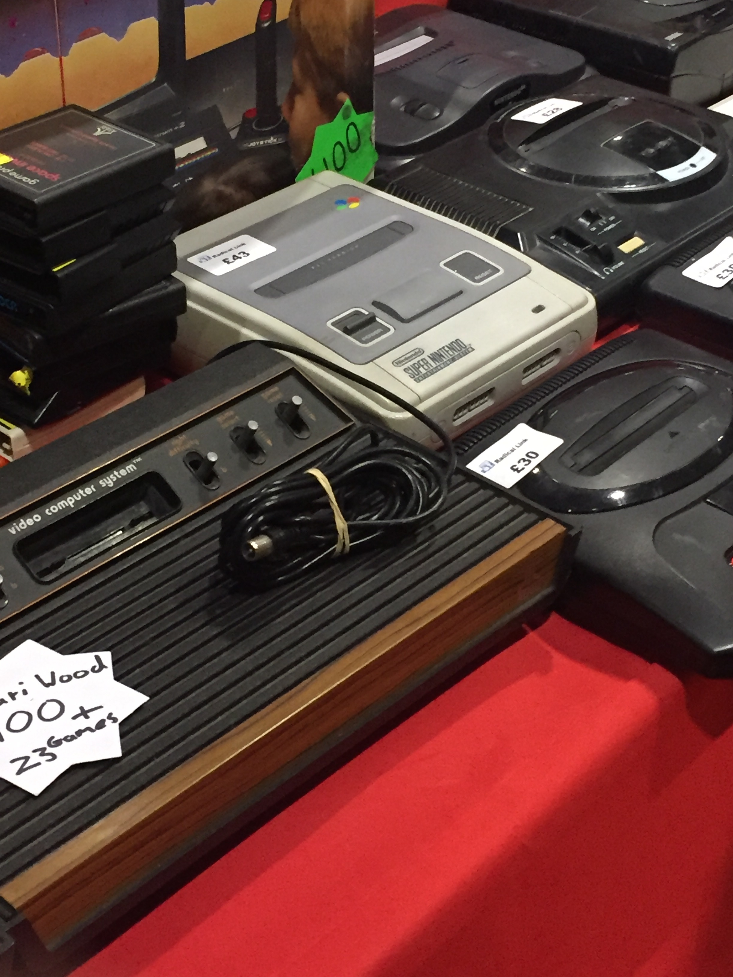 Retro game consoles