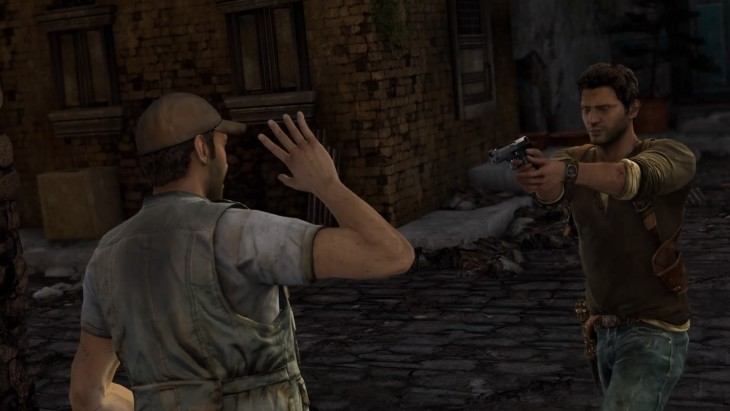 Uncharted 2: Among Thieves remastered screenshot