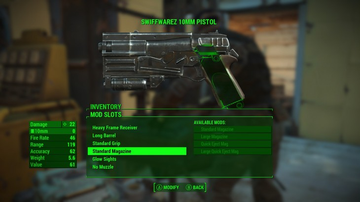 Fallout 4 weapon modding