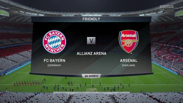 bayern munich vs arsenal