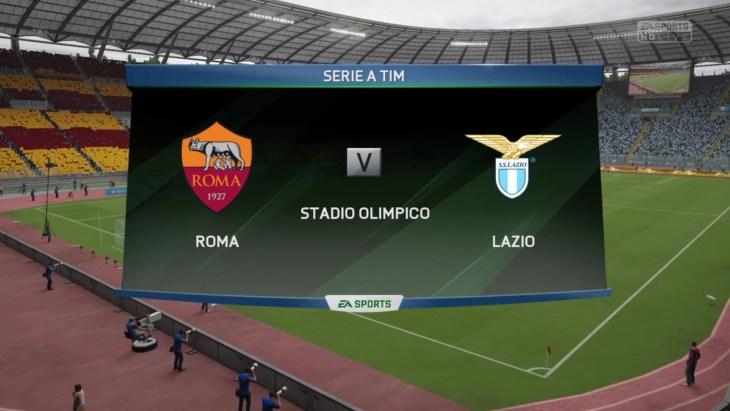Roma vs. Lazio - Serie A 2015/16 - CPU Prediction
