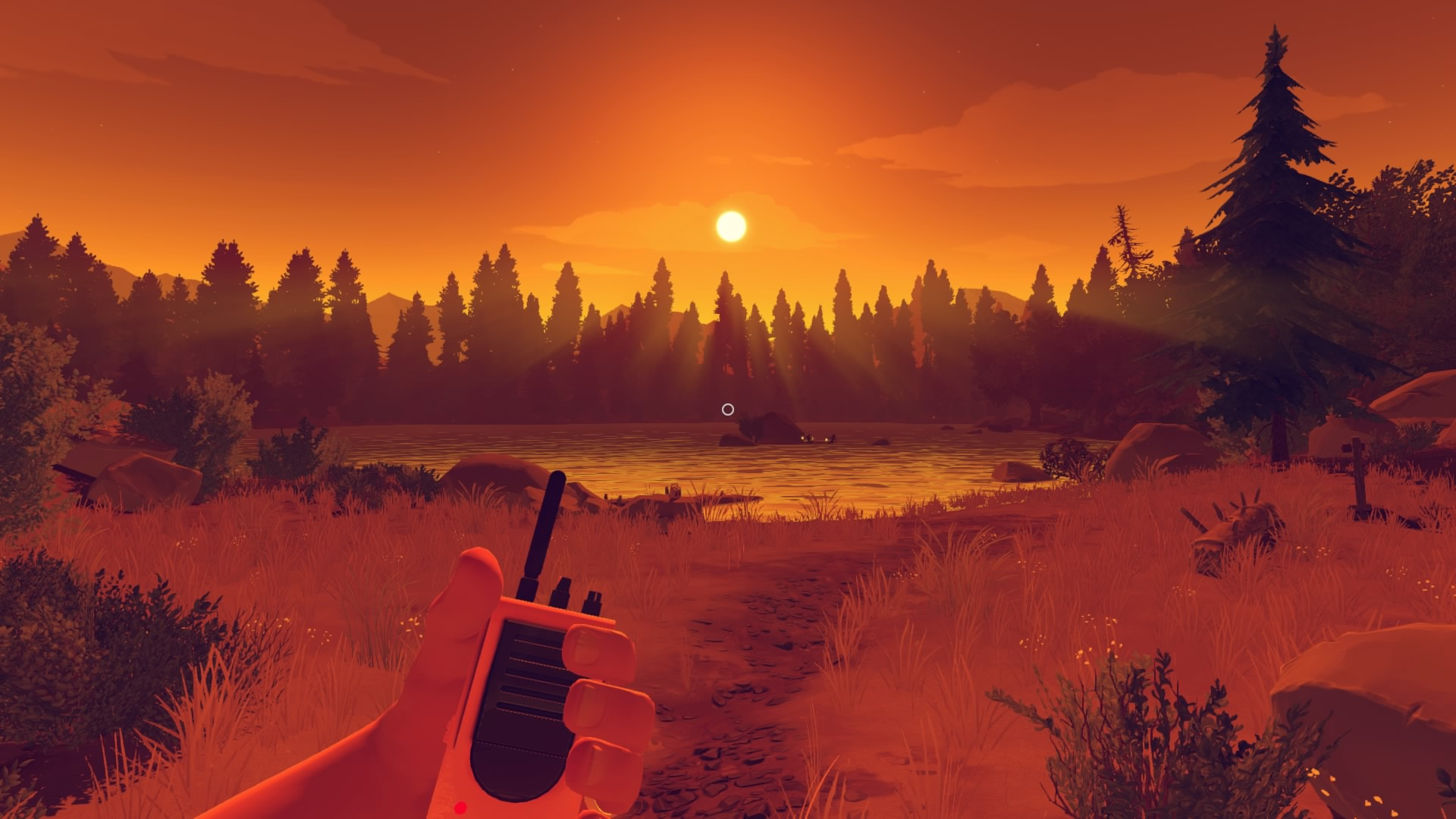 Red Dead Redemption Wallpaper Hd Firewatch Review Kindling Emotion The Koalition