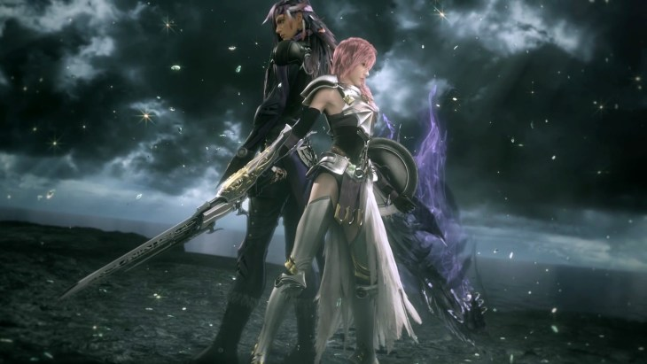 Lightning and Caius ready for battle