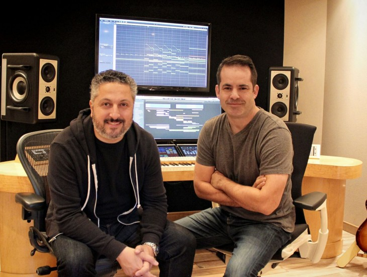 The dynamic duo behind the Forza Motorsport 6 soundtrack.