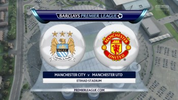 Man City vs. Man Utd - Barclays Premier League 2015/16