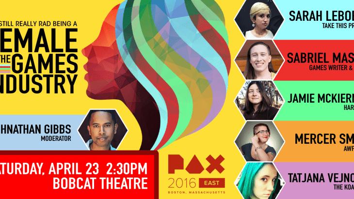 PAX East 2016 Ladies Panel