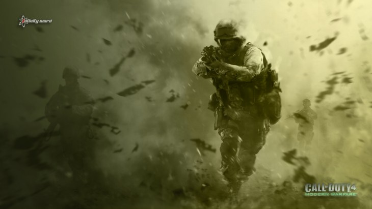 Call of Duty 4 Modern Warfare was huge for the Xbox 360