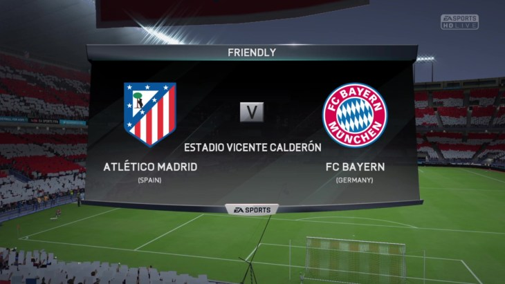 Fc Bayern München Vs Atletico Madrid