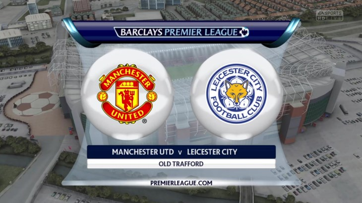 man utd vs leicester city
