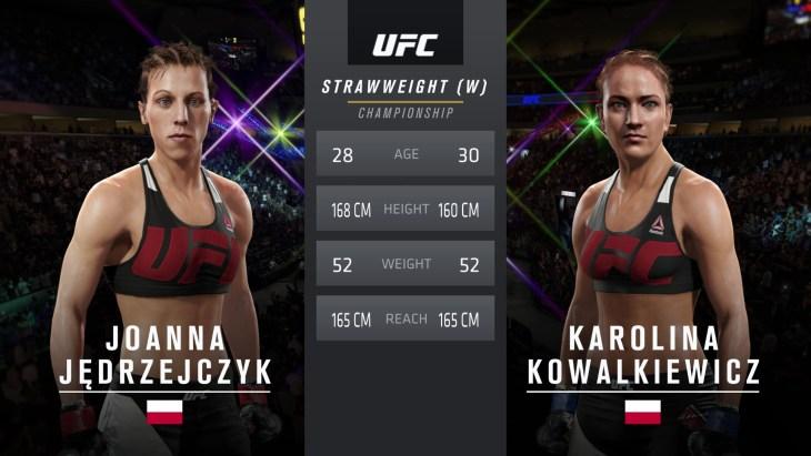 Jedrzejczyk vs. Kowalkiewicz
