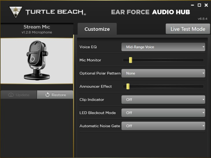 Ear Force Audio Hub