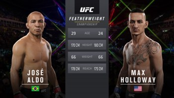 Aldo vs Holloway UFC 212