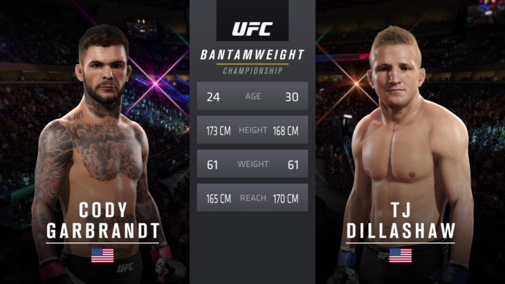 UFC 217: Garbrandt vs. Dillashaw