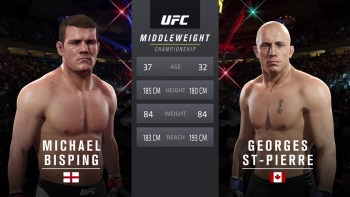 UFC 217: Bisping vs. St-Pierre - Middleweight Title Match