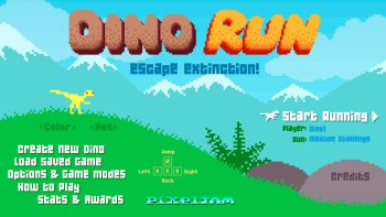Dino Run: A Fantastic 8-Bit Adventure That You Can Play For Free