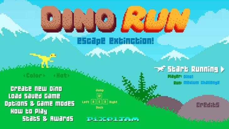 Dino run a fantastic 8 bit adventure that you can play - Dinosaure film gratuit ...