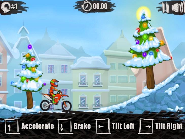 Moto X3M Winter Screen