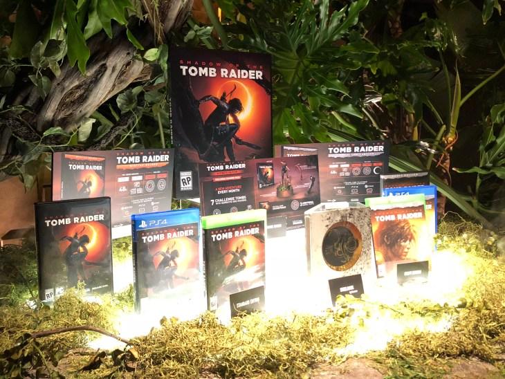 Tomb Raider Box Arts