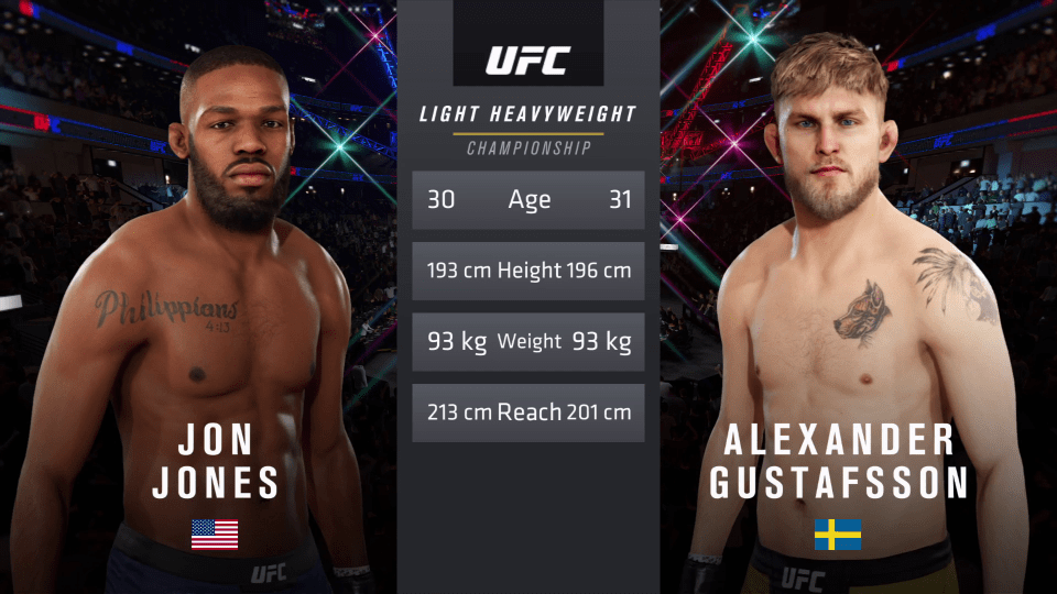 UFC 232: Jones vs. Gustafsson II
